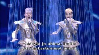 Eurovision 2012 - 1st Semi-final - Ireland (Jedward - Waterline) HQ