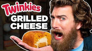 Twinkie Grilled Cheese Loaf Taste Test