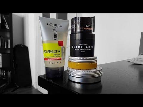 FÜNF Arten von Haarstyling-Produkten   Übersicht über Haarwachs und Co.