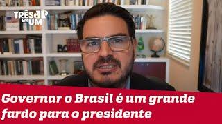 Rodrigo Constantino: É lamentável confundir divergências políticas e desejar o pior para Bolsonaro