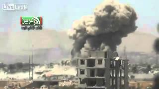 Massive bomb explosion in Damascus targeting jihadi terrorists
