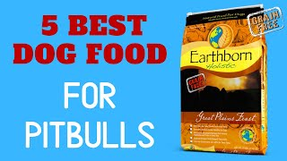 Best Dog Food for Pit bulls |  Affordable Dog Food to Feed Pit bulls in 2020.
