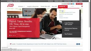 ADP Payroll Portal Employee Login