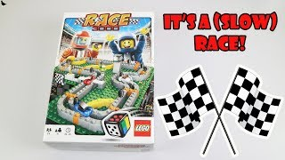 Lego Race 3000 Board Game Review & Full Playthrough   Board Game Night