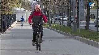 Сотни новгородцев приняли участие в акции «На работу на велосипеде»