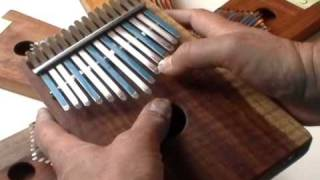 Family Of Kalimbas to Cover Different Keys