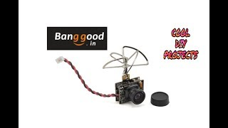 UNBOXING EACHINE FPV CAMERA TX02 [BANGGOOD]