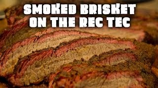 Smoked Brisket on the REC TEC Pellet Grill