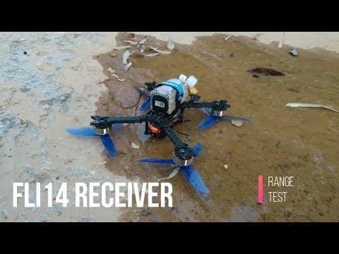 Fli14+14CH Receiver range test