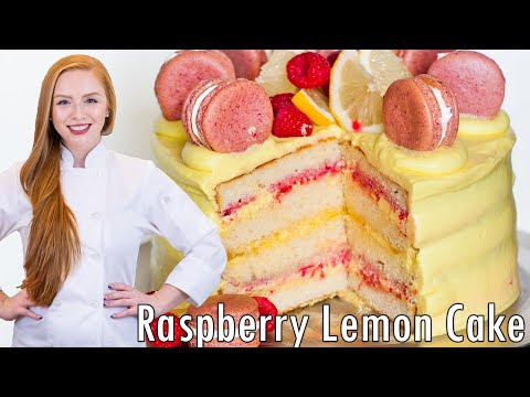 Video Raspberry Lemon Cake