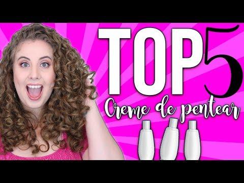TOP 5 ATUALIZADOS DE CREME PARA PENTEAR 😍😍😜
