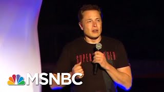 Tesla Reportedly Gets A Subpoena From SEC After Musk's Privatization Tweet | Velshi & Ruhle | MSNBC