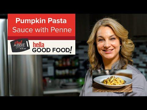 Creamy Pumpkin Pasta Sauce with Penne