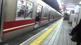 大阪市営地下鉄御堂筋線に乗ってる気分を味わう動画(梅田→中津止まり→梅田)