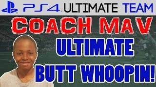 THE ULTIMATE WHOOPIN! | Coach Mav: Trent Ep.8 | Madden 15 Ultimate Team Gameplay (MUT 15 PS4)