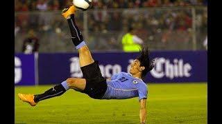 カバーニウルトラなスーパーゴール!スアレスもゴール!ウルグアイxチェコサッカー・ハイライト