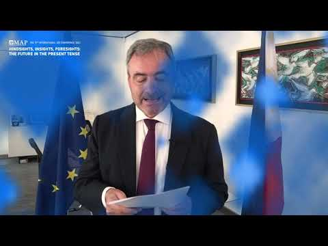 """EU Ambassador Luc Véron """"Healthy People, Healthy Planet: For a Better Future Together."""" 14 Sept 2021"""