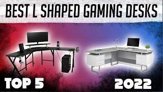 Best L Shaped Gaming desks in 2020   Top 5   (Great for Gaming Setups)