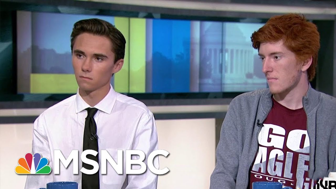 'We Wave To Stand Up And Say We Don't Want To Take This Anymore' | AM Joy | MSNBC thumbnail