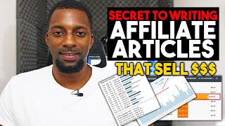 How To Write Affiliate Marketing Articles In 2020 (Copywriting Tutorial) + TEMPLATES