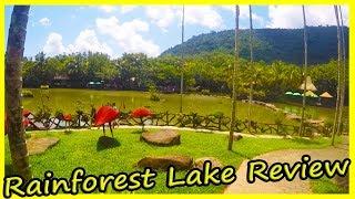 Lake In The Rainforest Review. Yanoda Rain Forest. Hainan, China. Rainforest Lake