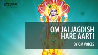 Om Jai Jagdish Hare Aarti by Om Voices - YouTube