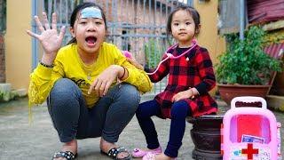 Trò Chơi  Bé Nhím Chăm Sóc Chị Bị Ốm - Bé Nhím TV - Đồ Chơi Trẻ Em Thiếu Nhi