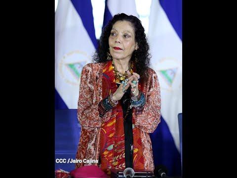 Compañera Rosario Murillo: Vamos adelante con soberanía y dignidad nacional