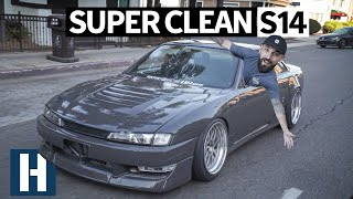 Vin's S14 is DONE! Fresh Paint, Wider BBS Wheels, More Body Chop