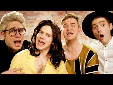 One Direction - History PARODY! Key of Awesome #106 (видео)