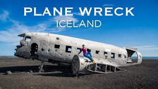 Plane Wreck & Black Sand Beach in Iceland | Iceland Ring Road Trip (Day 8)