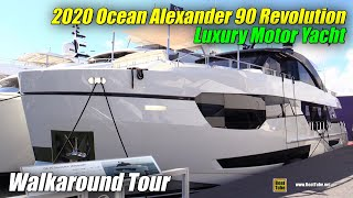 2020 Ocean Alexander 90 Revolution Luxury Yacht - Walkaround Tour