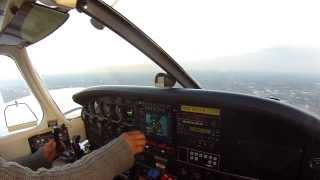 FLYING  TO THE MULTI ENGINE CHECK RIDE (KISP)