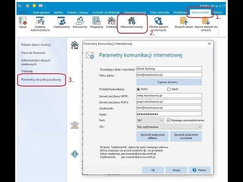Jak skonfigurowac maila oraz jakie daje możliwości?