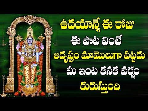 ఈ రోజు ఈ పాటలు వింటే మీ ఇంట్లో కనక వర్షం కురుస్తుంది ||LOrd Venkateswara songs