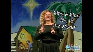 """Joy to the World"" with American Sign Language | Christmas Carol"
