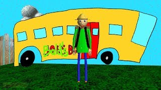 Go camping with Baldi | Baldi's Basics Field Trip | Baldi's Basics in Education and Learning