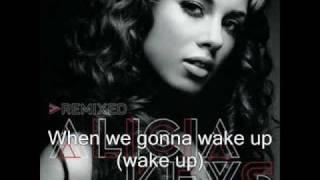 Alicia Keys - Wake up (with lyrics)