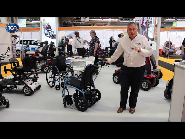 TGA Wheelchair Powerpack Single wheel Video