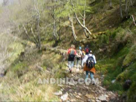 Recorrido de trekking / ruta de senderismo - Actividades al aire libre / Outdoors