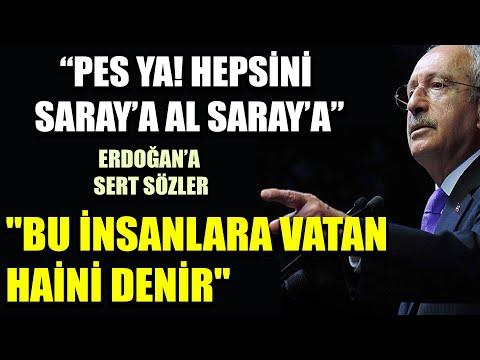 CHP Grup Toplantısı 14 Ocak / Kılıçdaroğlu'ndan Erdoğan'a çağrı: Hepsini saraya al!
