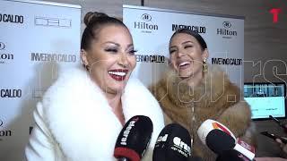 Ceca i Anastasija se zajedno pojavile na reviji, a onda je folk diva progovorila o udaji