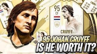 TESTING OUT 95 JOHAN CRUYFF MOMENTS! FIFA 19 Ultimate Team