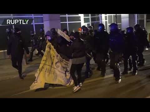 Anti-curfew protest dispersed by police in Germany's Stuttgart