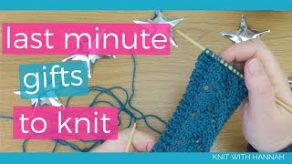 Last Minute Christmas Gifts To Knit In A Weekend