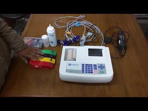Demo RMS 3 channel ECG Machine, Vesta 301i