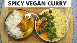 RAW Vs. COOKED: SPICY COCONUT CURRY | THE RAW BOY