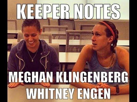 Keeper Notes WoSo -  Meghan Klingenberg & Whitney Engen