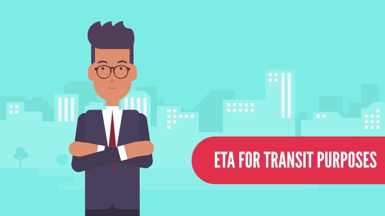Canada eTA for Transit Purposes