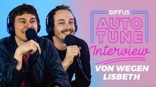 Von Wegen Lisbeth Im Auto Tune Interview | DIFFUS
